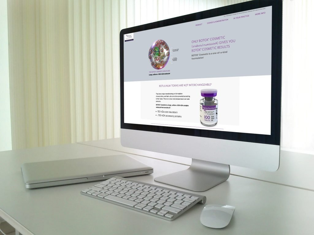 Allergan HCP Website